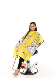 Kiddie Capes (Yellow) Tired of fighting with the kids during a service? Give them something to occupy their time with our fun and friendly kiddie capes. Designs Vary